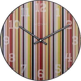 الساعة الحائط نيكستيمي 35 سم (الديكور، والساعات)