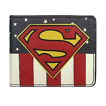 Superman USA Bi-Fold Brieftasche