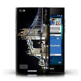 STUFF4 Case/Cover for Blackberry Leap/Tower Bridge/London England