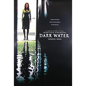 Tumma vesi (kaksipuolinen Advance) alkuperäinen elokuva juliste