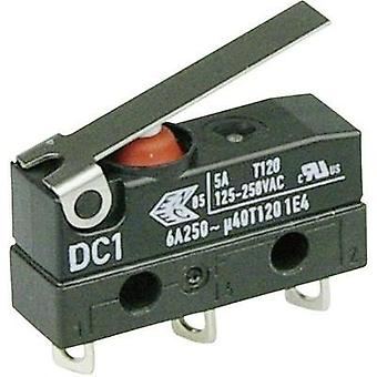 Microswitch 250 Vac 6 A 1 x On/(On) Cherry Switches DC1C-A1LB IP67 momentary 1 pc(s)