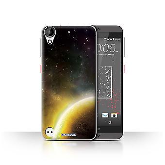 STUFF4 Case/Cover for HTC Desire 630/Yellow Planet/Space/Cosmos