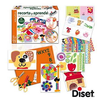Diset Cut and Learn (Toys , Educative And Creative , Design And Mode , Mode)