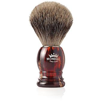 Mondial 1908 Carey Badger Pennello da barba Diametro 18 mm (Uomo , Rasatura , Pennelli)