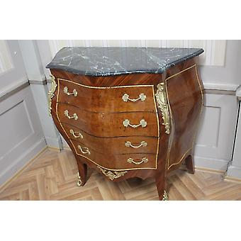 Commode baroque armoire Louis xv style antique MkKm0051