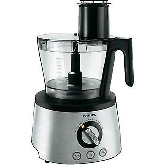 Food processor Philips HR7778/00 1300 W Stainless steel, Black