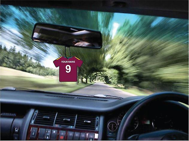 Personalised West Indies Cricket Car Air Freshener