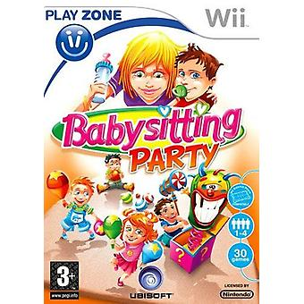 Baby sitting Party Nintendo Wii Game