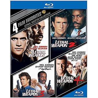 4 film-favorieten: Lethal Weapon [BLU-RAY] USA import