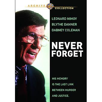 Never Forget [DVD] USA import