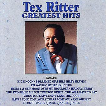 Tex Ritter - Greatest Hits CD] USA importerer