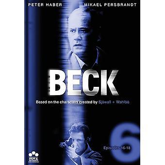 Beck - Beck: Set 6-Episodes 16-18 [DVD] USA import