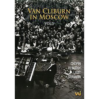 Van Cliburn - Van Cliburn i Moskva Vol. 5 [DVD] USA import