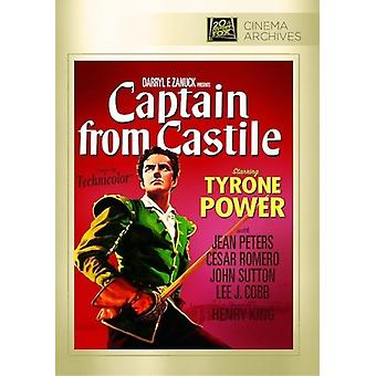 Captain From Castile [DVD] USA import