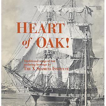 X-Seamen's Institute - Heart of Oak! [CD] USA import