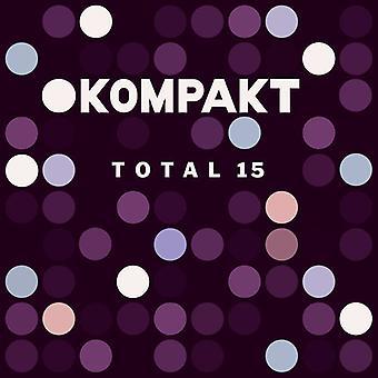 Forskellige kunstner - Kompakt samlede 15 [CD] USA import