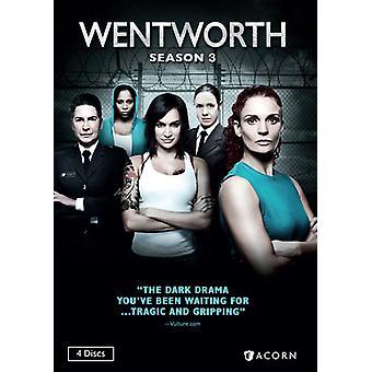 Wentworth: Season 3 [DVD] USA import