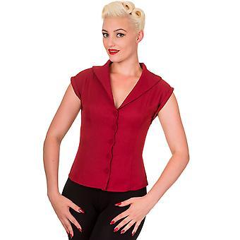 Vietato rosso Dream Master con colletto camicia S