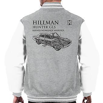 Haynes Workshop Manual 0033 Hillman Hunter GLS Herren Varsity Jacke schwarz