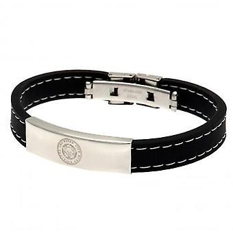 Leicester City syet silikone armbånd