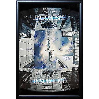 Insurgent - Signed Movie Poster