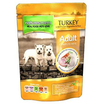 Natures:menu Turkey With Chicken Pouch For Dogs (Dogs , Dog Food , Wet Food)
