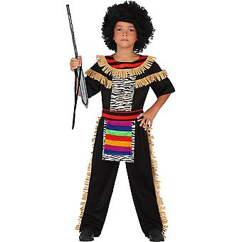 Children's costumes  carnival costume zulu for children