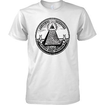 Annuit Coeptis - gran sello de Estados Unidos - para hombre T Shirt