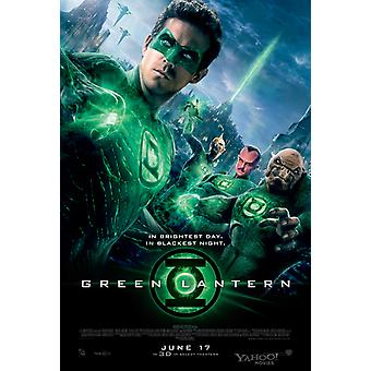 Green Lantern - Signed Movie Poster