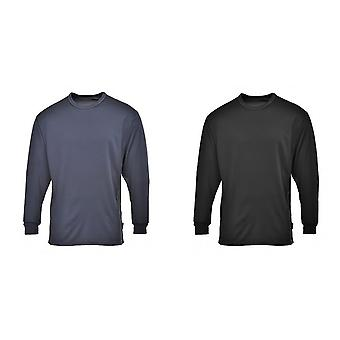 Portwest Mens Long Sleeve Thermal Base Layer Top