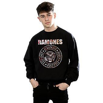 Ramones mænds blomst Rose Sweatshirt