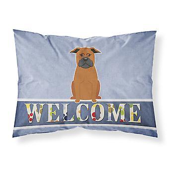 中国重慶犬歓迎ファブリックの標準的な枕