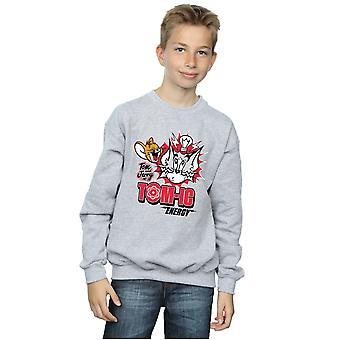 Tom And Jerry Boys Tomic Energy Sweatshirt