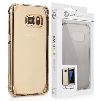 Caseflex Samsung Galaxy S7 TPU Gel sag - klar