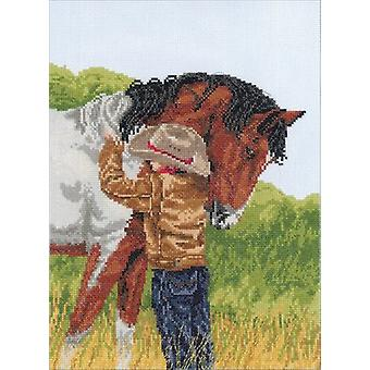 Horse Crazy Counted Cross Stitch Kit-9