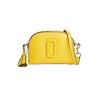 Marc Jacobs women's M0009474GIALLO yellow leather shoulder bag