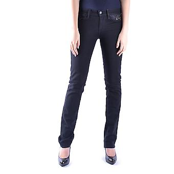 7 for all mankind women's MCBI004012O black cotton of jeans