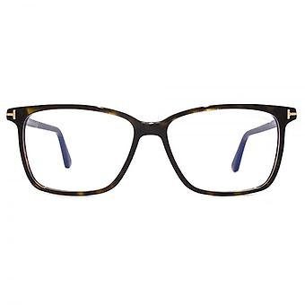 Tom Ford FT5478-B Blue Filter Lens Glasses In Dark Havana
