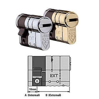 Avocet Avocet ABS High Security Half Euro Cylinder - Anti Snap Lock - TS007 3 Star
