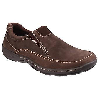 Cotswold Mens Twyning Slip On Elasticated Loafers