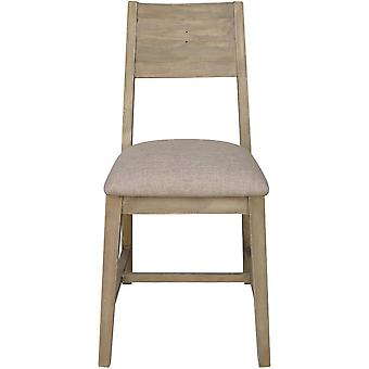 Classic Pair Of Turin Reclaimed Dining Chair