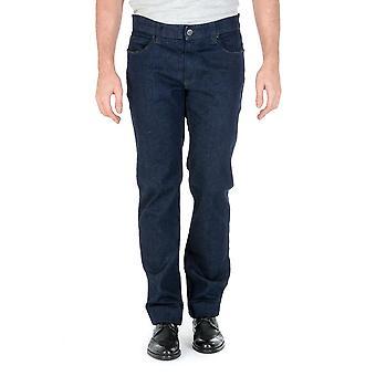 Armani Collezioni Mens Jeans Dark Blue