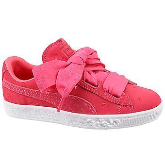 Puma Suede Heart Jr 365135-01 Kids sneakers