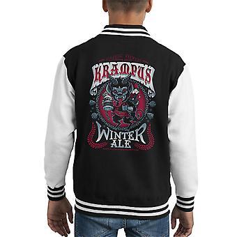 Krampus Winter Ale Kid's Varsity Jacket