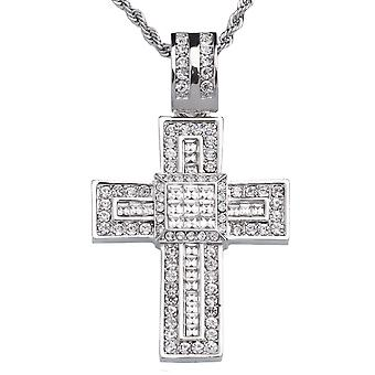 Iced out bling hip hop chain - PHAT