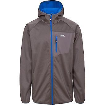 Trespass Mens Dayton Waterproof Breathable Windproof Softshell Jacket