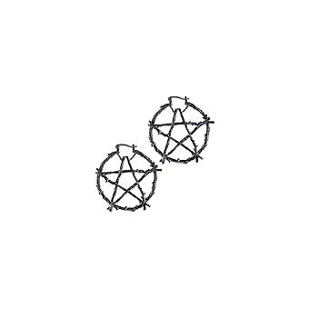Restyle Branch Pentagram Earrings