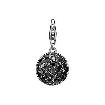 ESPRIT pendant of charms silver luminary black ESZZ90593B000