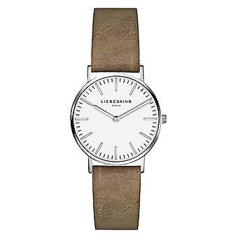 LIEBESKIND BERLIN ladies watch wristwatch leather LT-0087-LQ