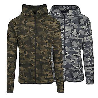 Urban classics Zip Jacket interlock Camo
